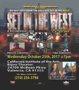 "Screening of ""Set in the West: the Genesis of L.A. Hip Hop"" (2017)"