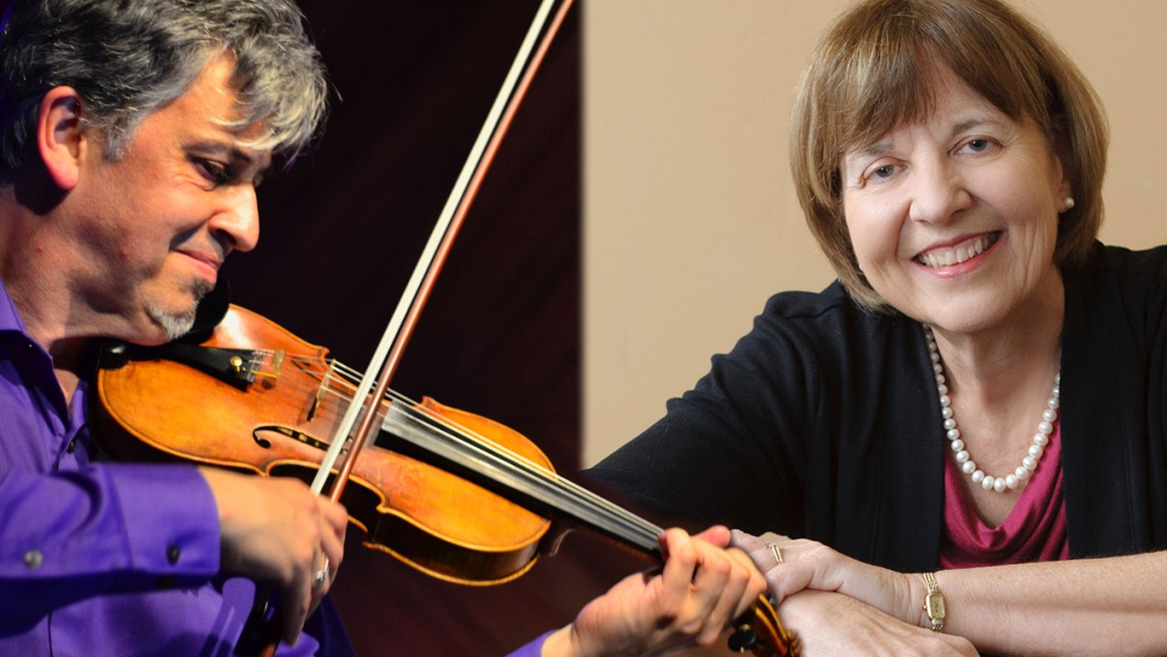 Mark Menzies and Gayle Blankenburg (Violin & Piano)